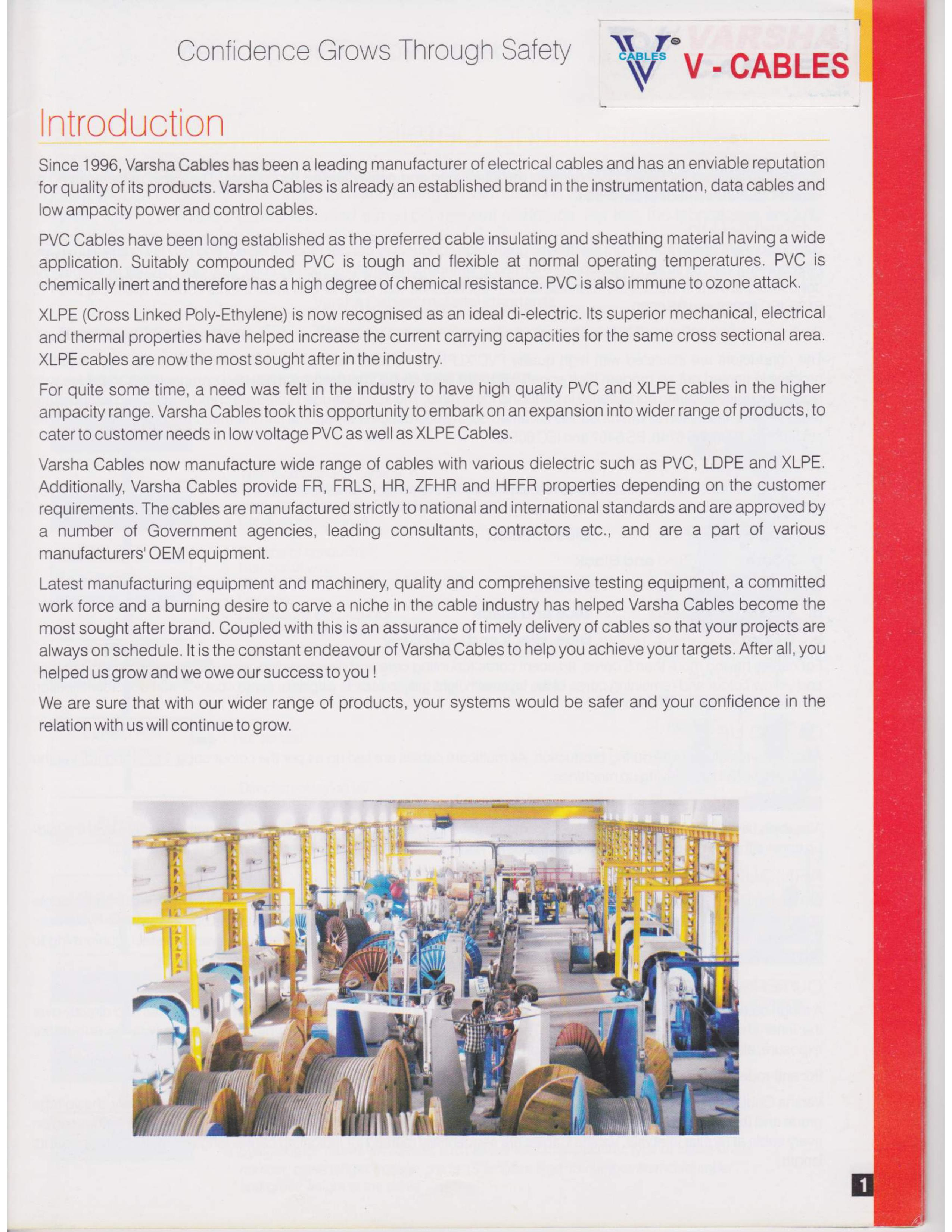 About | Varsha Cables Pvt. Ltd.